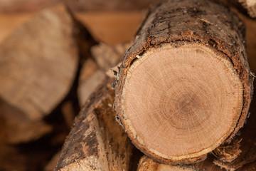 firewood whole log background