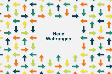 Wallpaper Pfeile - Neue Währungen