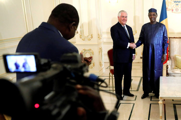 Tillerson visits officials in Chad