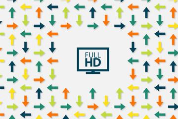 Wallpaper Pfeile - Full HD