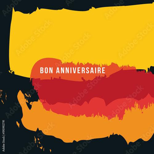 Anniversaire carte danniversaire artistique graphique anniversaire carte danniversaire artistique graphique peinture carte invitation stopboris Images