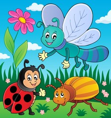 Spring animals and insect theme image 9