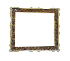 Old frame empty