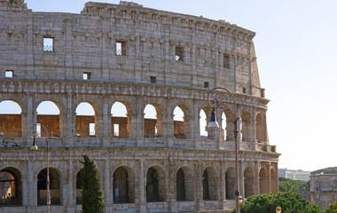 Le Colisée à Rome, Italie.