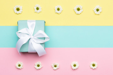 Happy Mother's Day, Women's Day, Valentine's Day or Birthday Pastel Candy Colours Background....