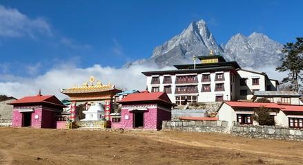 Tengboche Monastery, the best monastery in Khumbu