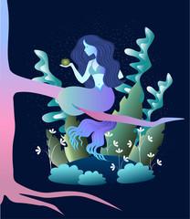 magic mermaid concent