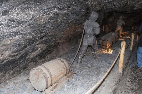 wieliczka salt mines, Krakow, Poland