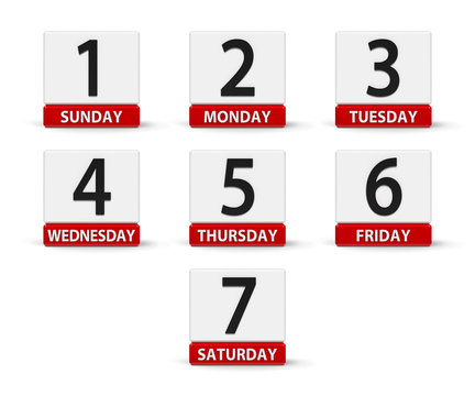 Days of the week #2