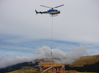 Helicopter transport logs