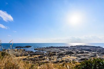 城ヶ島の海岸線 Rugged coast
