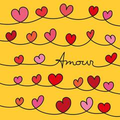 amour - cœur - je t'aime - amoureux - carte - couple - mariage - romantique - graphique - amoureux