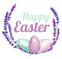 Easter card, Happy Easter