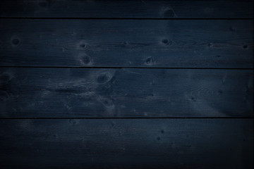 Wood Dark Navy Blue Texture