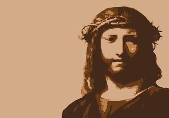 Jésus - christ - Jésus-Christ - dieu - portrait - personnage célèbre - christianisme