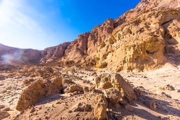 Eilat, Israel. Beautiful sea, beachs and mountais.