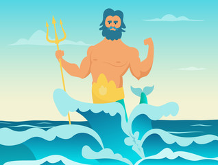Poseidon Greek god of the sea