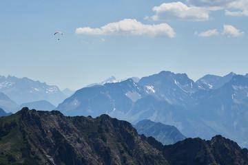 Gleitschirmfliegen in den Allgäuer Alpen