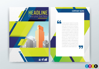 Abstract modern Business Background Design, Creative Brochure Template, Flyer Layout, Annual Report, in A4 size, Vector Illustration
