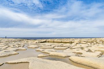 Salzpfannen in Xwejni Bay auf Gozo