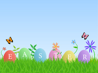 Easter Eggs, Illustration