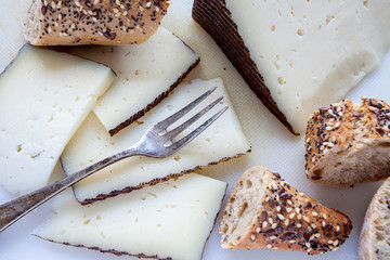 Manchego cured cheese