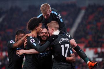 Premier League - Stoke City vs Manchester City