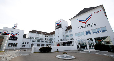 "Headquarter of Textile company ""TRIGEMA"" is pictured in Burladingen"