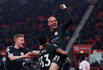 Premier League - Stoke City vs Manchester City
