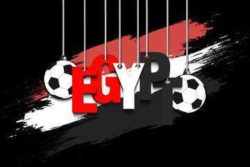 Banner the inscription Egypt