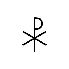 Cross of Constantine icon. Elements of cross icon. Premium quality graphic design. Signs and symbol collection icon for websites, web design, mobile app, info graphics
