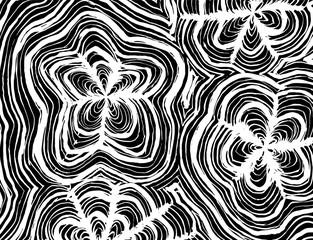 Brush stroke pattern. Watercolor.