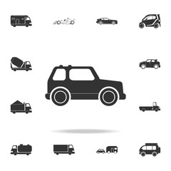 Safari Off-road car icon. Detailed set of transport icons. Premium quality graphic design. One of the collection icons for websites, web design, mobile app