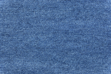 Close up blue jean texture background