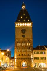 Altpörtel Speyer zur blauen Stunde