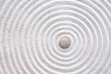 Obraz zen sand and stone - fototapety do salonu