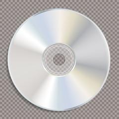 blank white CD trans