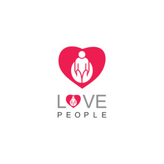 Love people care logo