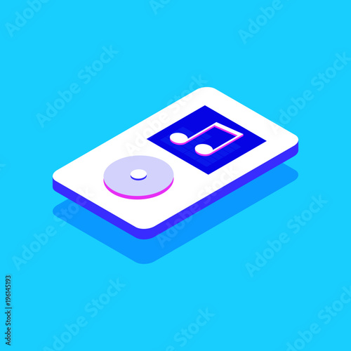 Isometric 3D music player