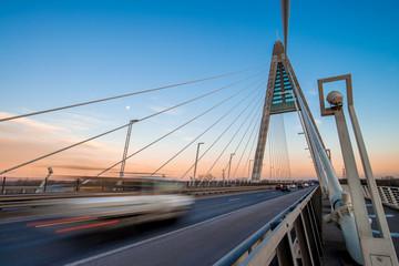 Megyeri bridge in Budapest