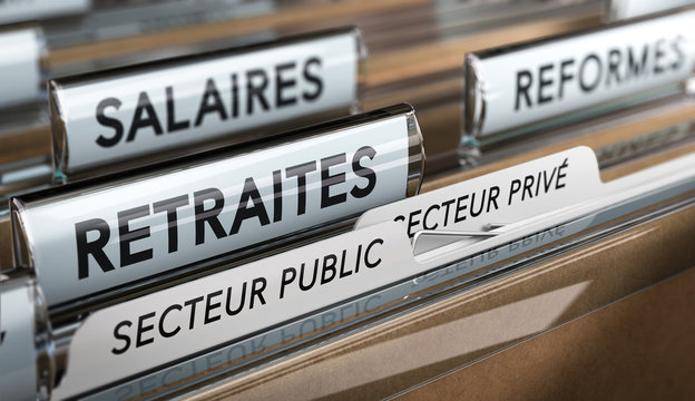 Retraites du secteur public et privé