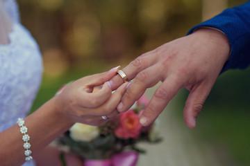 get a wedding ring