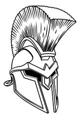 Spartan Ancient Greek Helmet