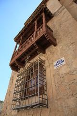 Casa colgadas, detalle, Cuenca, España