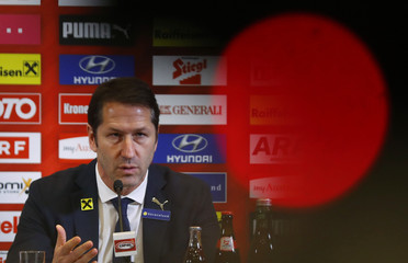 Soccer Football - Austria national team news conference