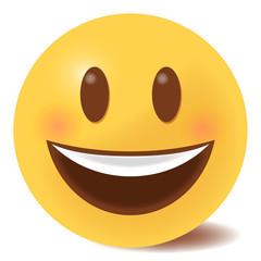 Emoji lachend - 3D