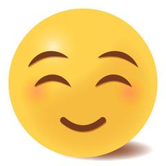 Emoji glücklich - 3D