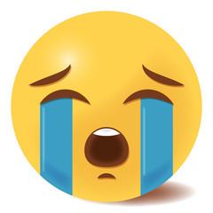 Emoji heulend - 3D