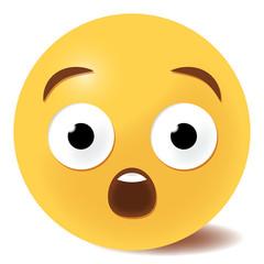 Emoji staunend - 3D