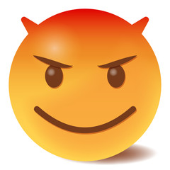 Teufel Emoticon - 3D